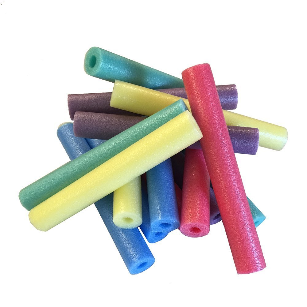 Oodles TM of Shorty Noodles Pack of 15 Multi-Color 17 Inch Pool Noodles by Oodles of Noodles