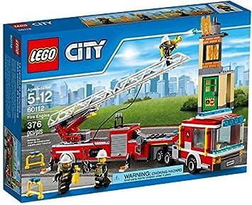 Lego City Fire Engine 376pieza S Juego De Construccion Juegos De
