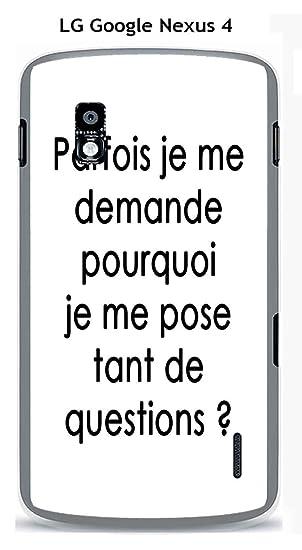 Onozo Carcasa LG Google Nexus 4 Design citación Questions ...