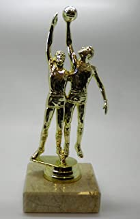 Personnalisé 16,5cm mâle basket-ball 2Figurine trophée Doré