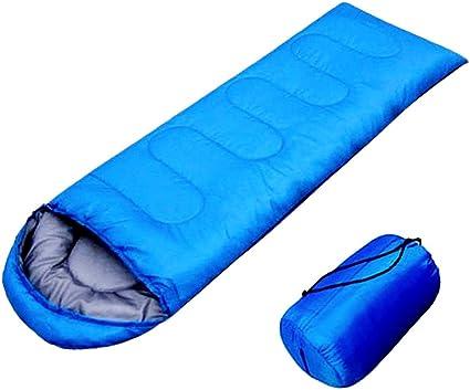 Ultralight Adult Single Envelope Sleeping Bag Camping Hiking w// Carrying Bag Hot