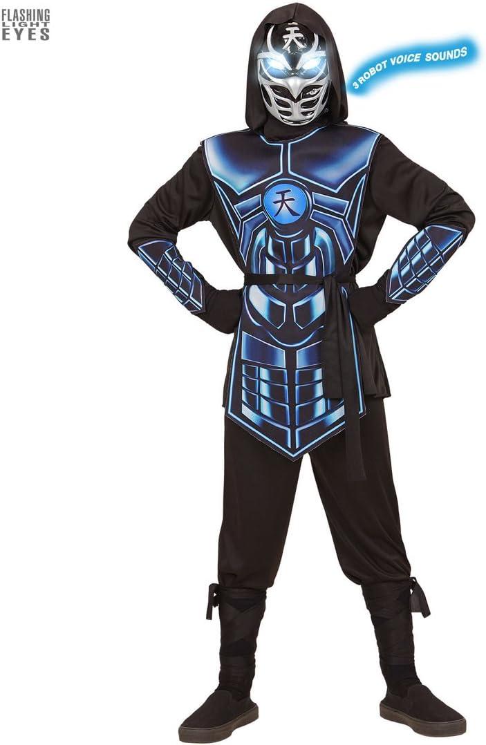 NET TOYS Disfraz Infantil de Ninja Ciber - 135 - 140 cm, 8 - 10 ...