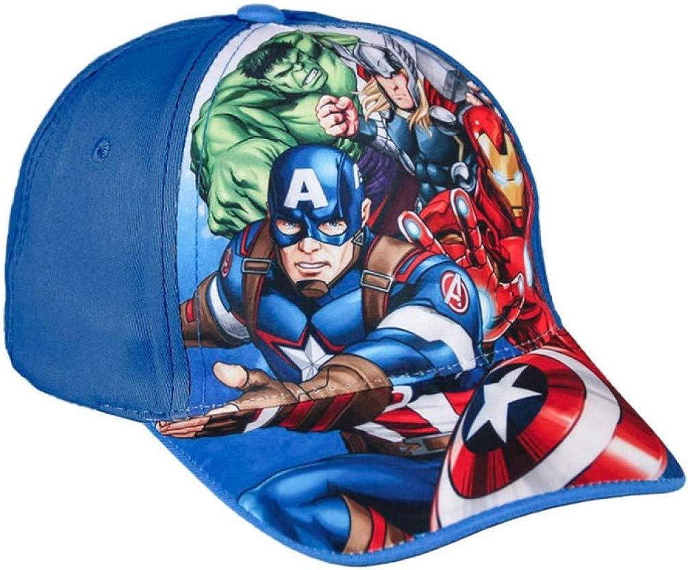 3 Bambino Multicolor 001 Cerd/á Gorra Avengers Cappellopello, Taglia Produttore: Medium