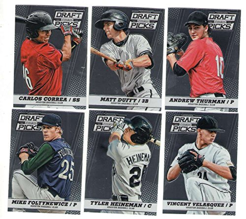 2013 Panini Prizm Perennial Draft Picks (1-100) - HOUSTON ASTROS Team Set