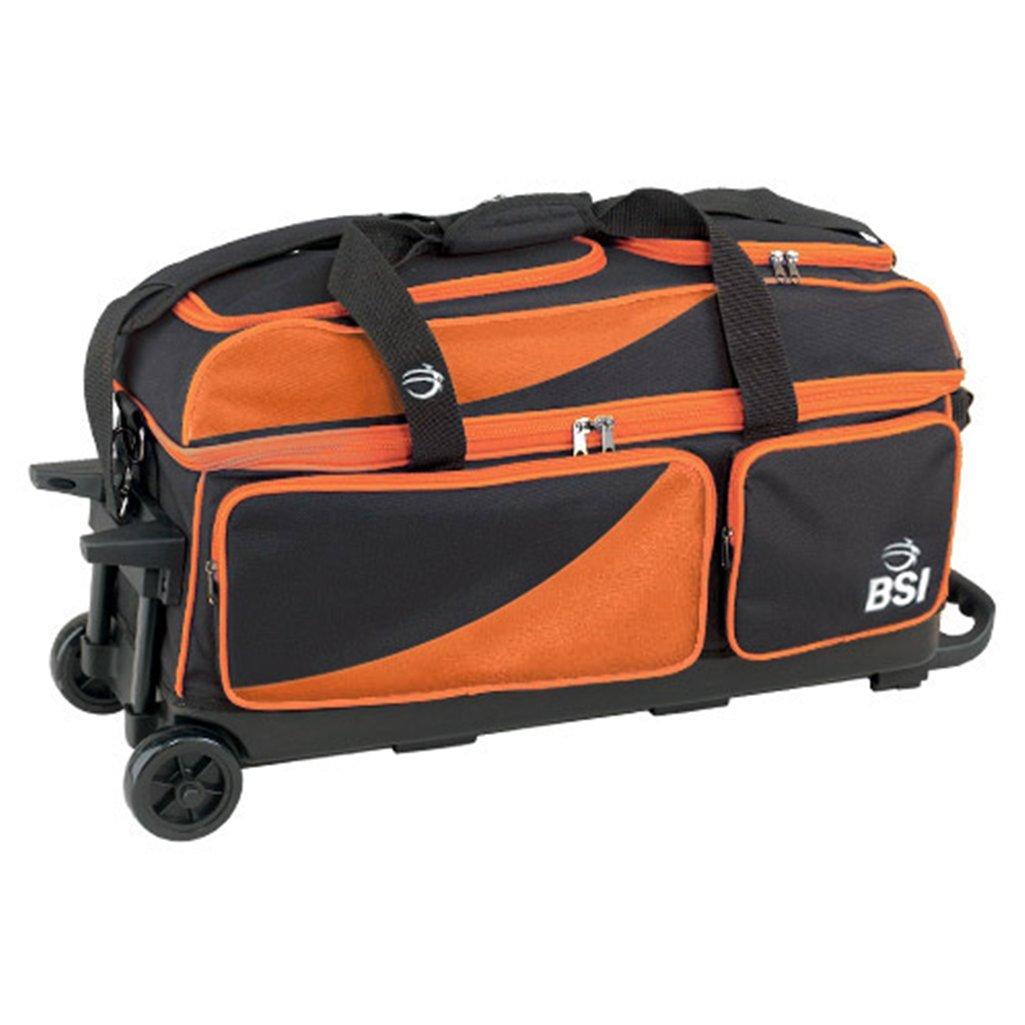 BSI 3ボールローラーBowling B00CMWG94K bag-ブラック BSI/オレンジ マルチ B00CMWG94K, ST-SERVICE:e1005733 --- gamenavi.club