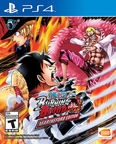 One Piece Burning Blood Marineford PlayStation product image