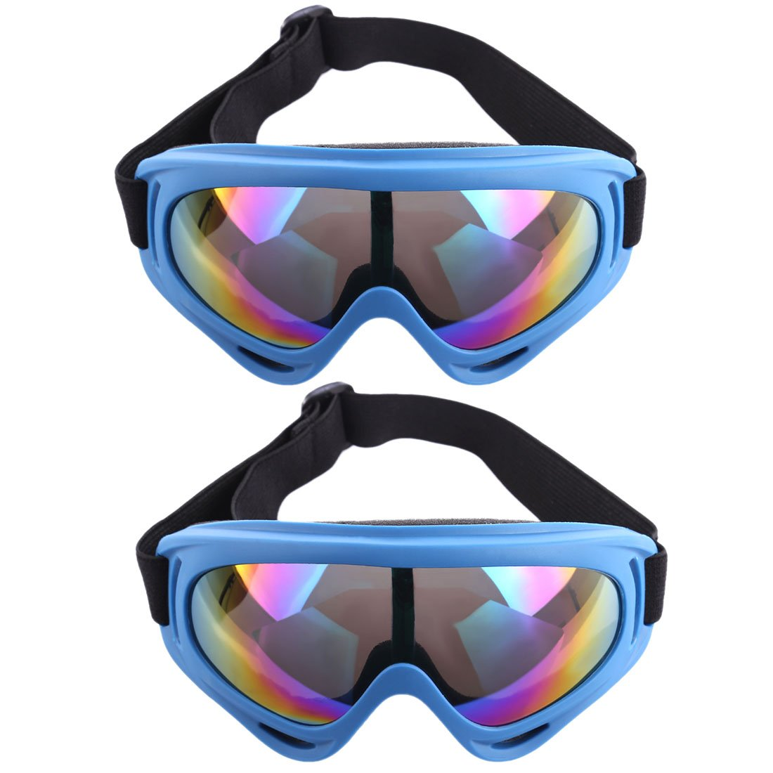 安全ゴーグル、YAMIx 2ペア目保護ゴーグル安全メガネfor Nerf War and Nerfパーティー 18.5*8*6cm IIYITW1532S1190BI7V0P B07BLT54NT Dark Blue Frame 18.5*8*6cm