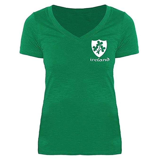Oyedens Grün Blusen Damen Grün Printing Rundhals Pullover Bluse Tops  T-Shirt  Amazon.de  Bekleidung d8980ac6fd
