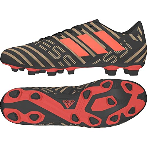 198d17cc8ccd Adidas Men s Nemeziz Messi 17.4 FxG Cblack Solred Tagome Football Boots - 8  UK