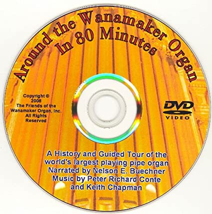 Amazon.com: Around The Wanamaker Organ In 80 Minutes! DVD Tour, Concert U0026  History: Michael Barone: Movies U0026 TV