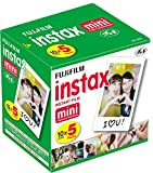 #10: Fuji 96090 Instax Mini Instant Film, 10 Sheet, 5 Piece