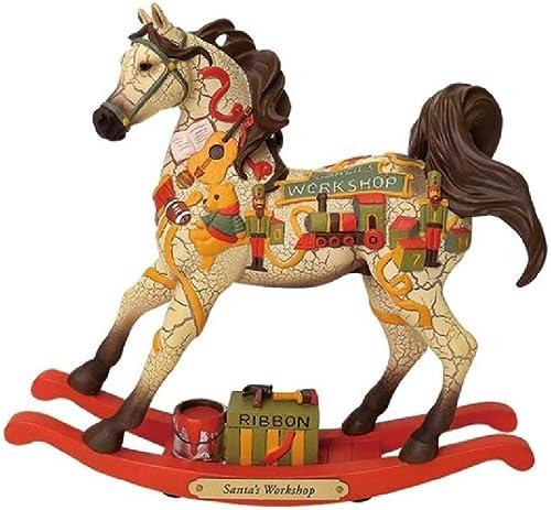 Enesco Trail of Painted Ponies Santa s Workshop Figurine