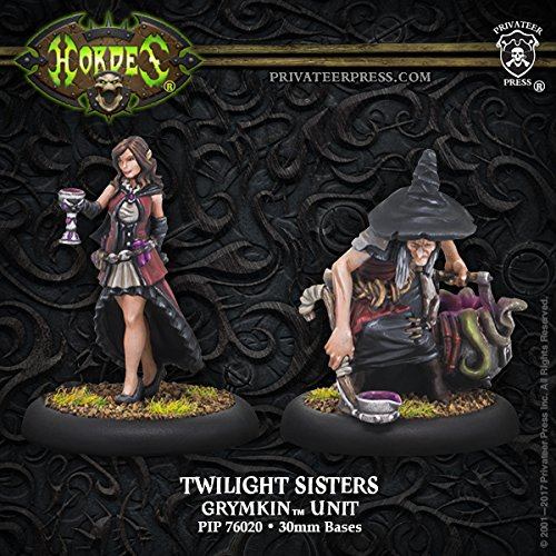 Privateer Press Grymkin: Twilight Sisters Miniature Game Model