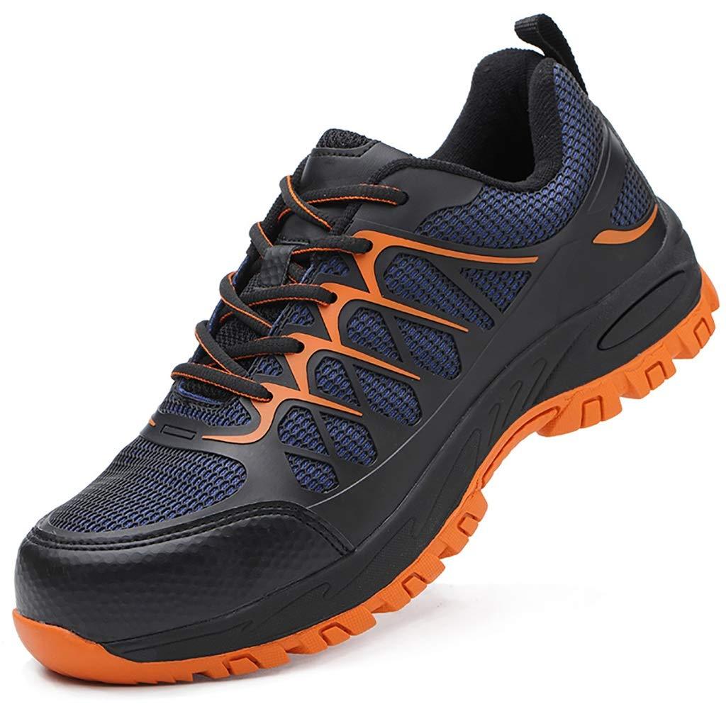 ZYFXZ Sicherheitsschuhe Zehenschutzkappen aus Stahl für Männer und Frauen  leichte, atmungsaktive, strapazierfähige und robuste Anti-Piercing-Arbeitsschutzschuhe Arbeitsschuhe (Farbe   A, größe   36)
