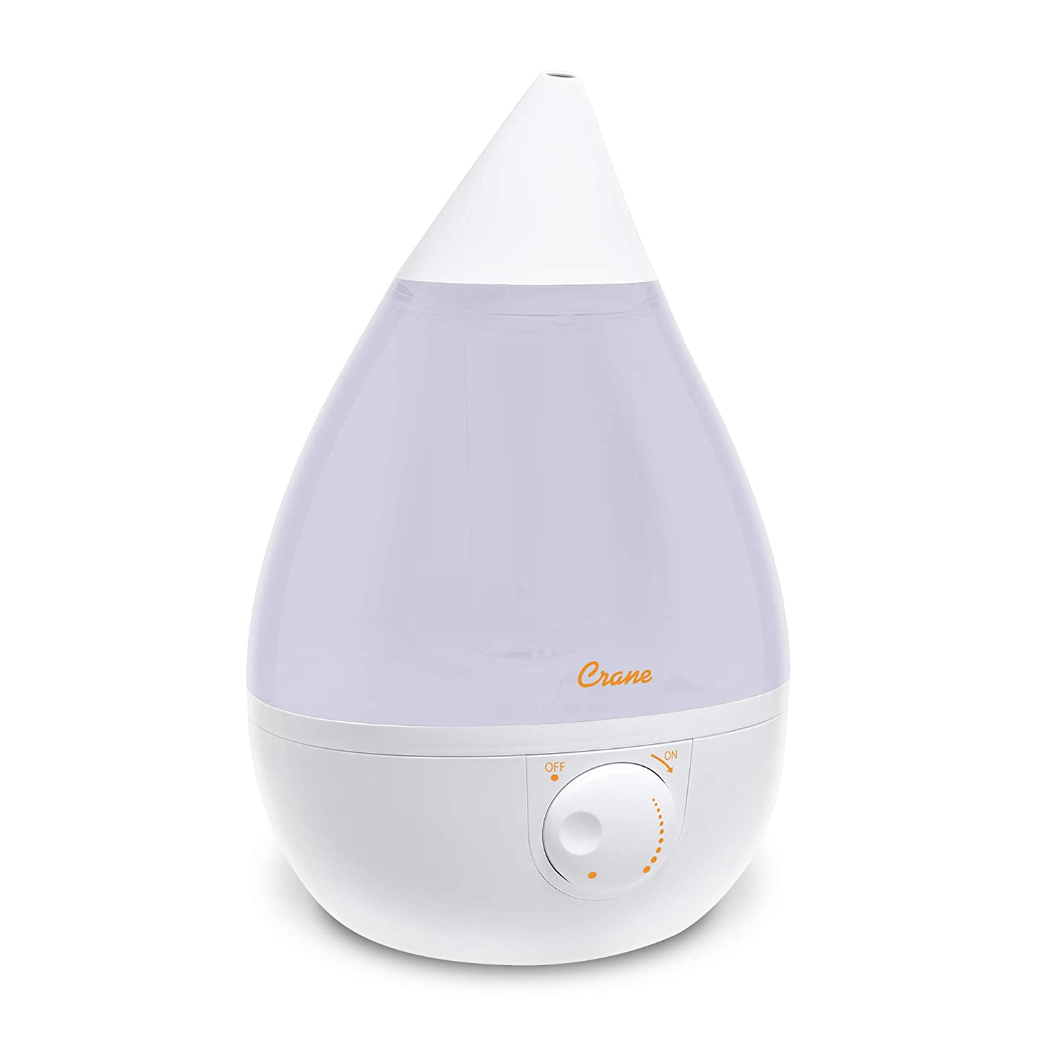 Crane USA Warm Mist Humidifier in White