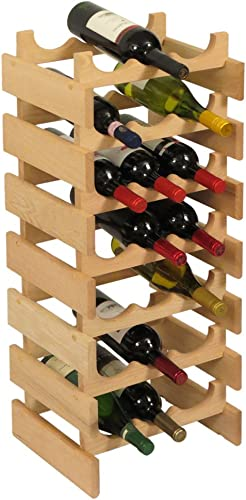 Wooden Mallet 21 Bottle Dakota Wine Rack