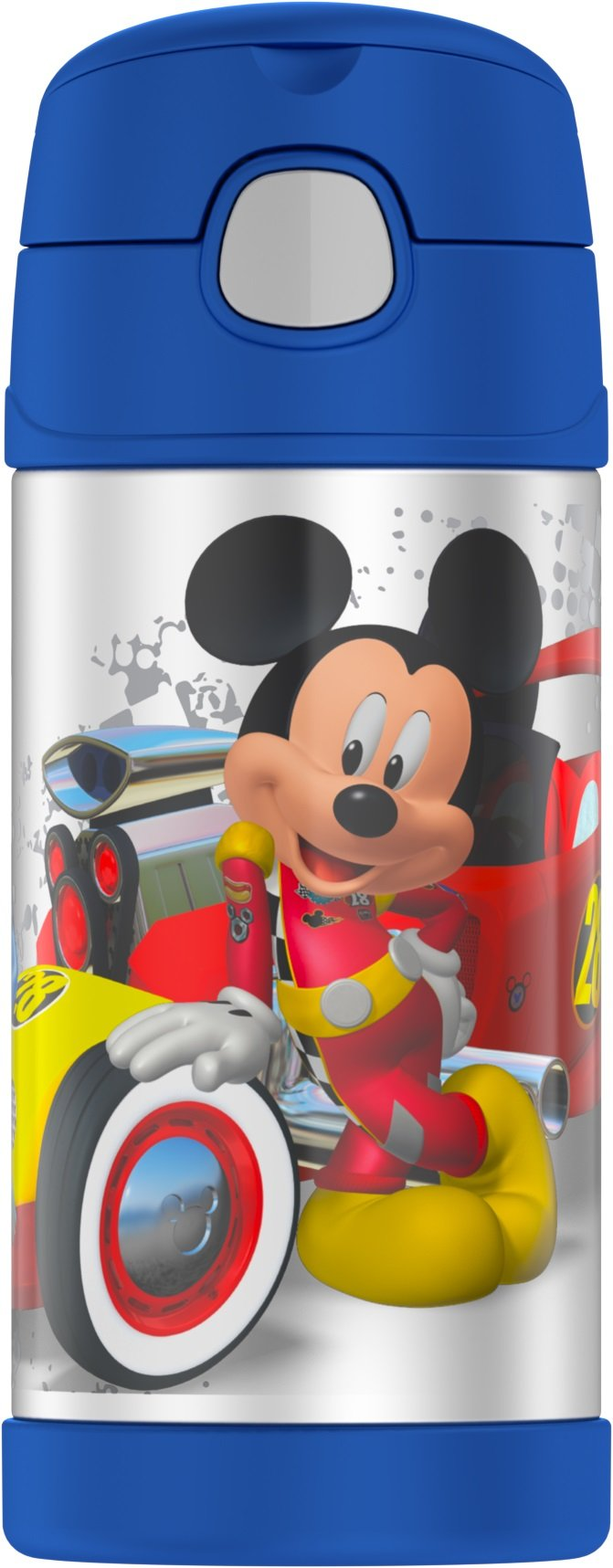 Thermos Funtainer 12 Ounce Bottle, Mickey Mouse by Thermos