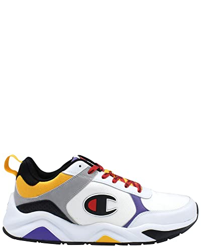 f631b4f75ef08 Champion Mens 93 Eighteen Block Sneaker