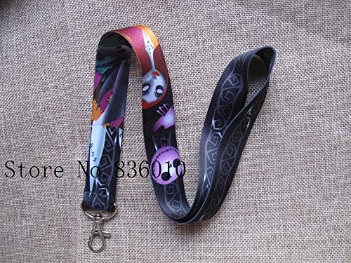 (BATOP Nightmare Before Christmas 10 pcs Popular Nightmare Before Christmas Lanyard Key Chains Pendant Gifts Party Favors)