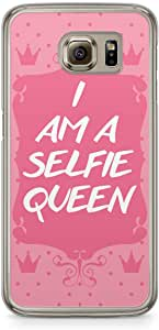 Selfie Samsung Galaxy S6 Transparent Edge Case - I am Selfiesh