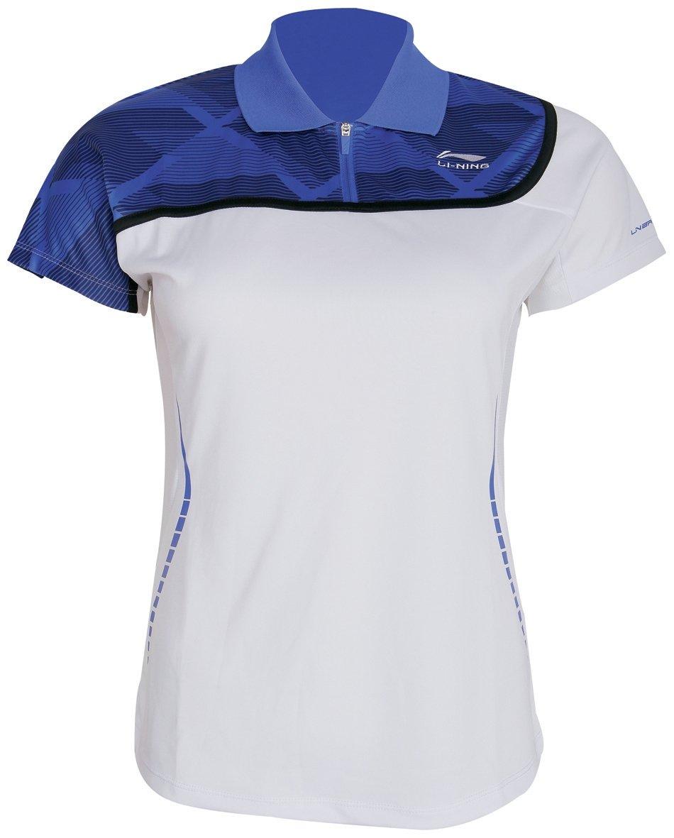 Li-Ning Women's Polo Badminton Polo Top - White
