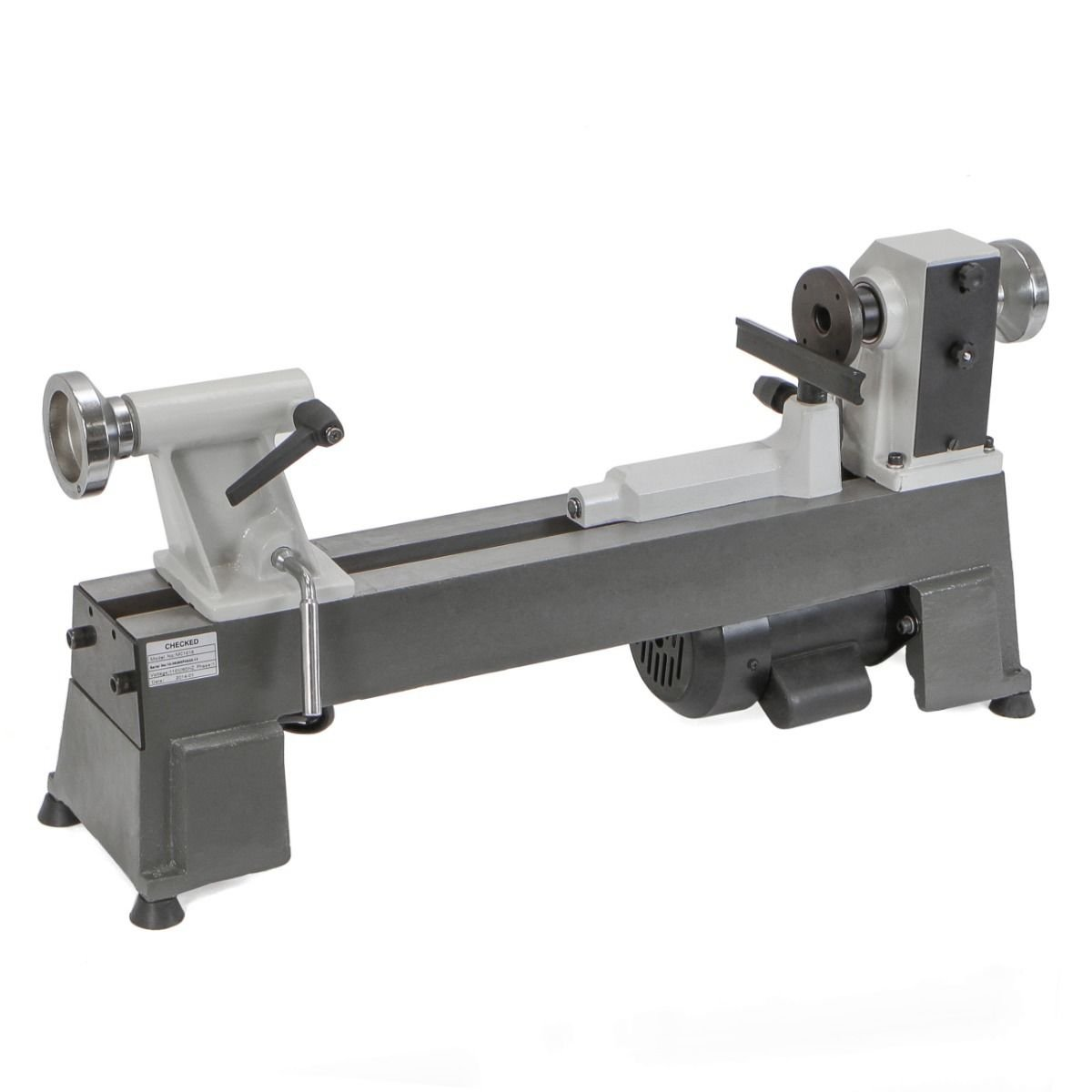 HEAVY DUTY 5 SPEED BENCH TOP POWER TURNING WOOD LATHE TOOLS NEW 10 x 18''