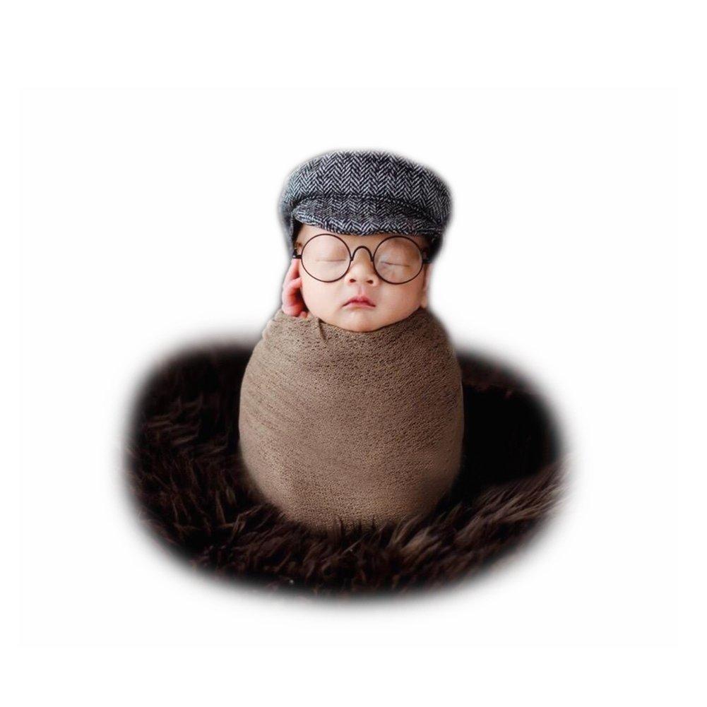 Recién Nacido Rropa Sombrero de Bebé Niña Boina Niño Fotografia Beisbol Gorras Foto Accesorios