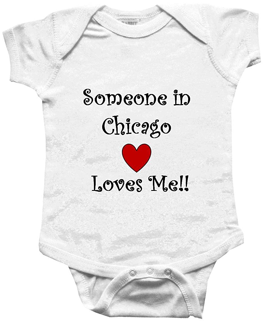 amazon bigboymusic someone in chicago loves me city series Top 10 Things Do Chicago amazon bigboymusic someone in chicago loves me city series baby one piece bodysuit clothing