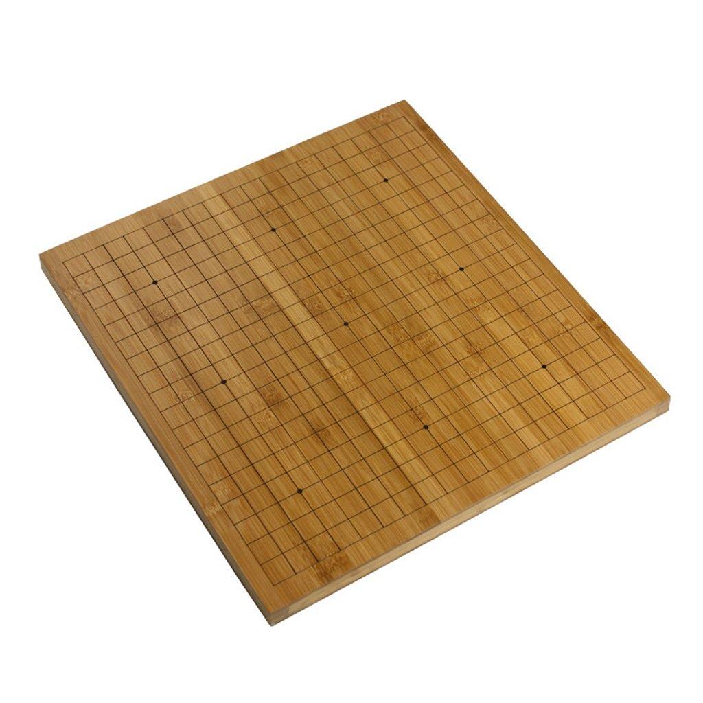 LYQZ 2 cm Bambus Holz Go/Schachbrett Doppelseitig Dual-Use