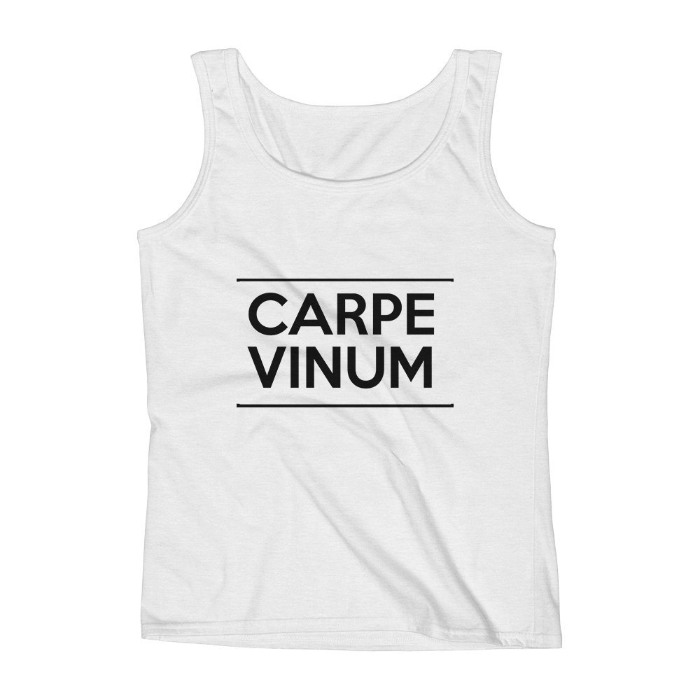 Mad Over Shirts Carpe Vinum Unisex Premium Tank Top