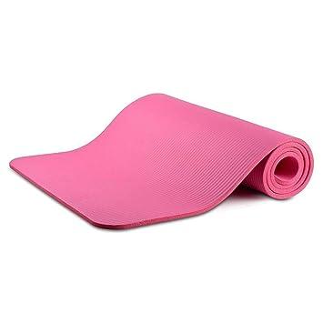 Makant Esterilla de Yoga 185 x 80 x 1,5 cm, Rosa: Amazon.es ...