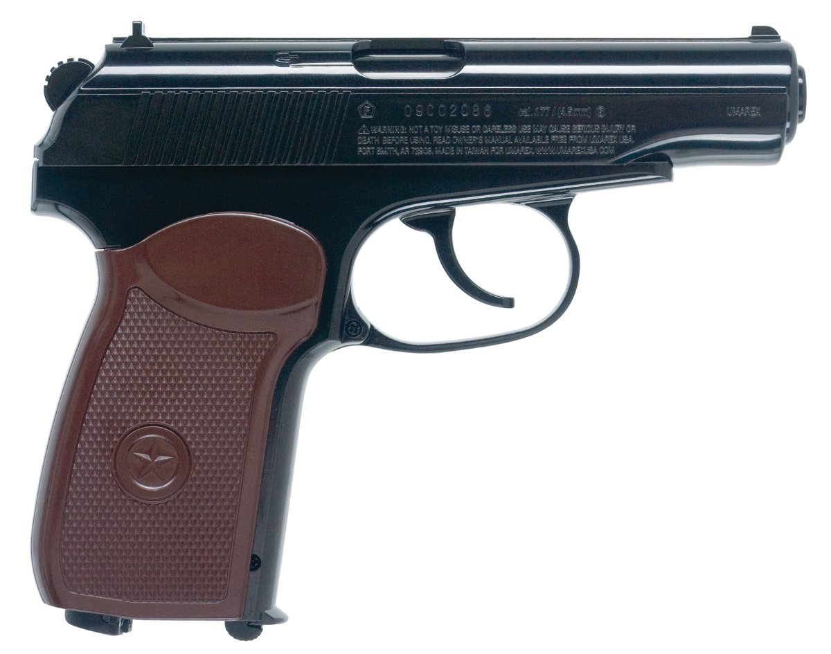 Amazon.com : Makarov .177 Caliber Steel BB : Starter Pistols : Sports &  Outdoors