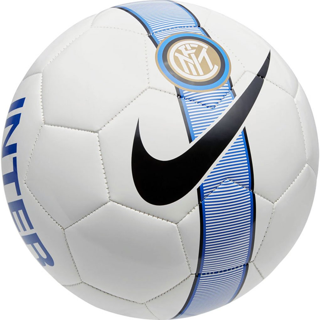 Balón Nike Inter Milan 2017-2018 Talla Única, Color Blanco, Azul ...