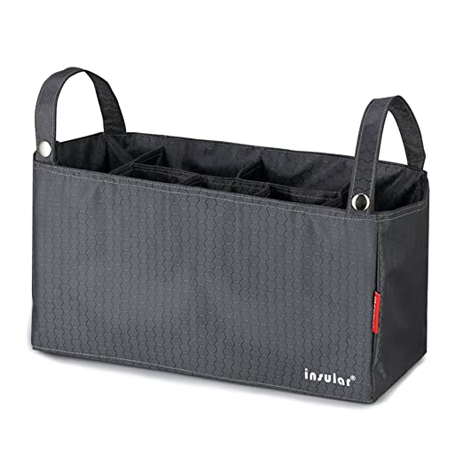 Verwandeln Sie Ihre Lieblings Taschen in eine modische Windeltasche Grau Fumee Wickeltasche Buggy Organizer f/ür Stilvolle M/ütter 7 taschen