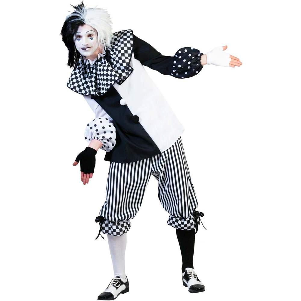 Pierro´s Pierro´s Pierro´s Kostüm Harlekin Herr Größe 48-58 232097