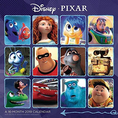 Disney PIXAR Wall Calendar (2019)]()
