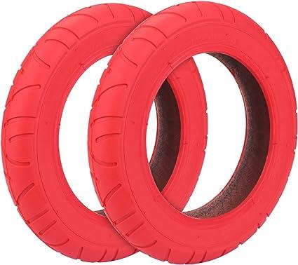 Konesky Neumático para Patinete Electrico, Reforma de DIY 10 Pulgadas Ruedas de Reemplazo Antideslizamiento Scooter Eléctrico Compatible con Xiaomi M365