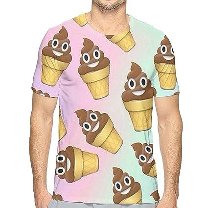Amazoncom Flying Xie Boys Poop Emoji Ice Cream Athletic 3d