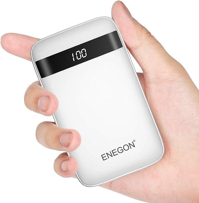 7 opinioni per ENEGON Power Bank 10000 mAh Dimensioni Ultra compatte Caricabatterie Esterno per