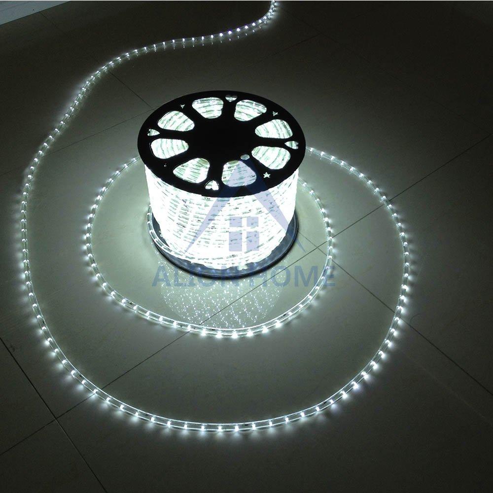 Alion Home LED Rope Lights (3ft - 200ft) White (200)FT