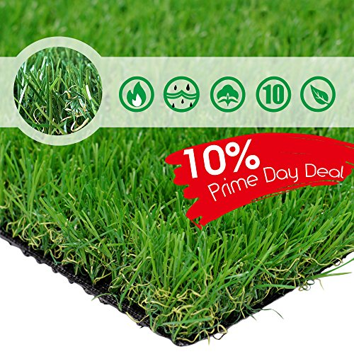 PET GROW Pet Pad Artificial Grass Turf 6.5FT x10 FT(65 Square FT) - Realistic & Thick Fake Faux Grass Mat - Outdoor Garden Landscape Pet Dog Grass Astro Rug