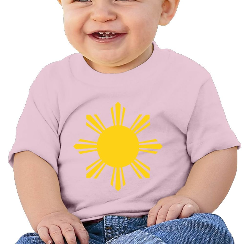 Sun Symbol of The National Flag of The Philippines.SVG Tshirt Baby Boys
