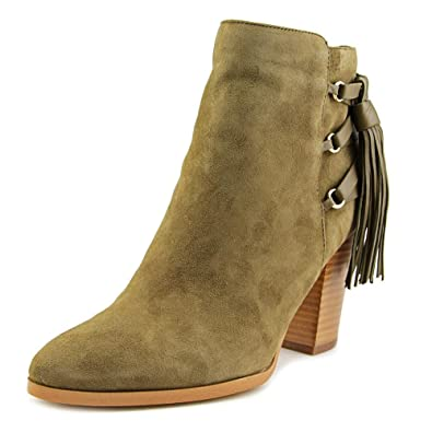 Womens kava Suede Pointed Toe Ankle Fashion Boots