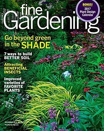 Fine Gardening Amazon Com Magazines