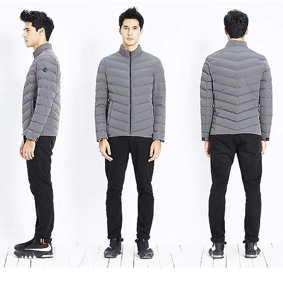 Qifengshop Giacca invernale da uomo giacca corta da inverno