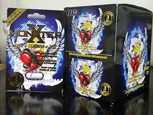 x monster male sexual performance enhancement pill 6 pk buy online