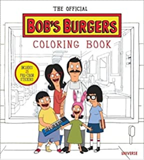 the official bobs burgers coloring book - Nickelodeon Coloring Book