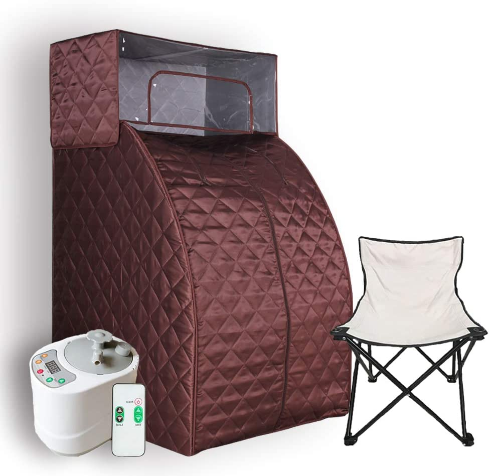 Details about  /2L Portable Folding Home Steam Sauna SPA Loss Weight Detox Therapy Bodyslim c 59