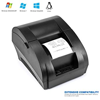 Impresora de recibos, TEROW Impresora térmica de recibos ...