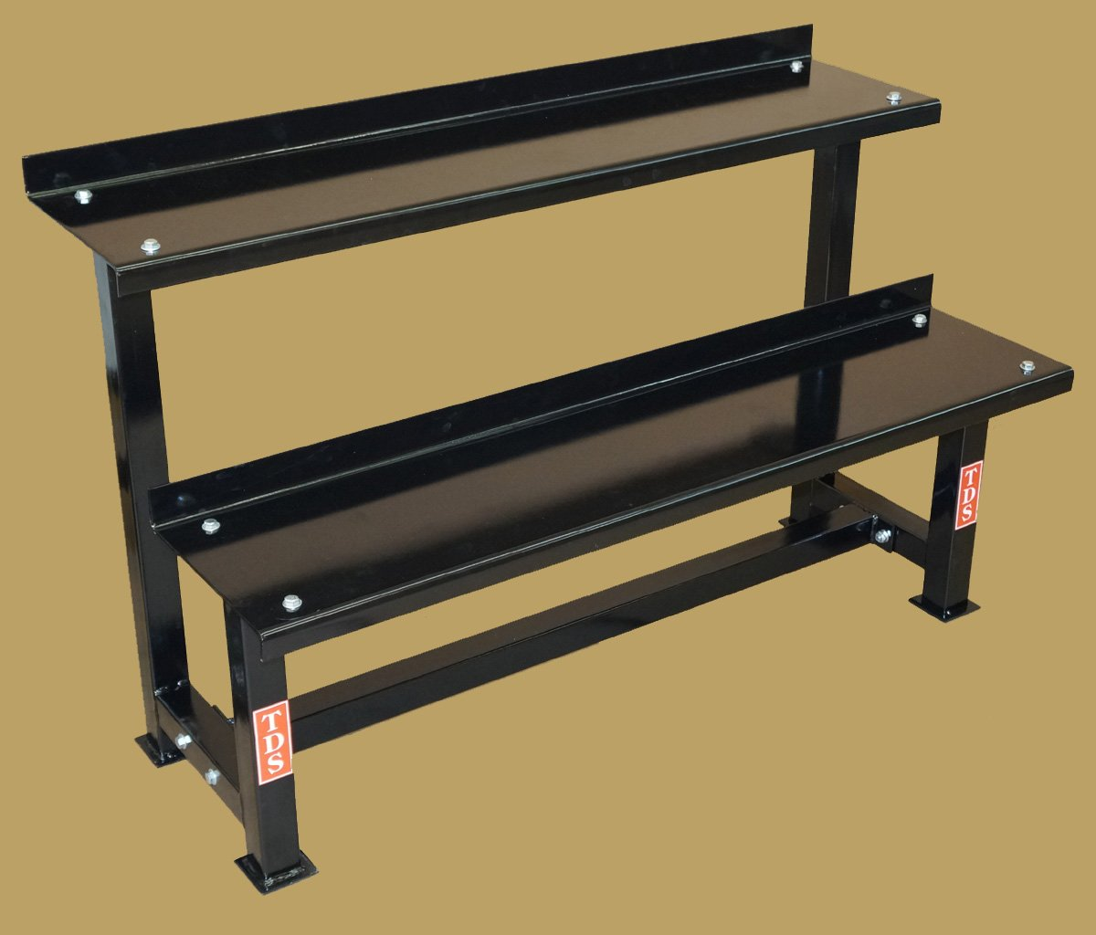 TDS Fitness 48'' Rack with 30-80 lb Kettlebell Pkg by New York Barbells by TDS (Image #1)